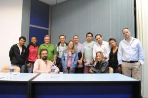 Foto do grupo reunido em Viçosa (MG)